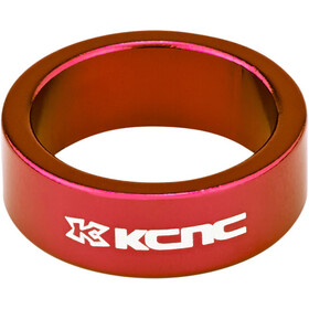 "KCNC Headset Spacer 1 1/8"" 12mm red"